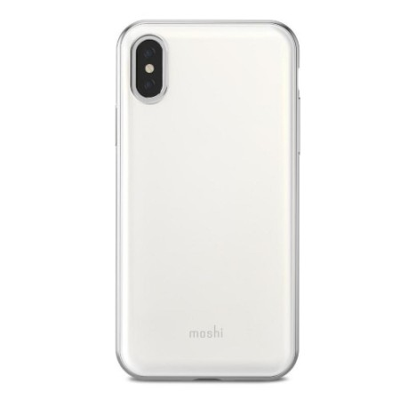 moshi iphone case moshi iglaze iphone x ultra slim pearl white reviews 7367