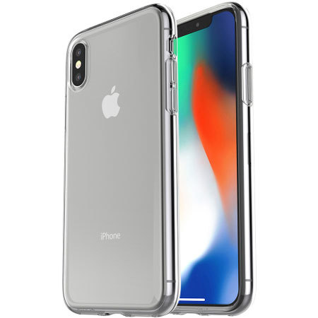 otterbox clearly protected skin iphone x case - clear reviews