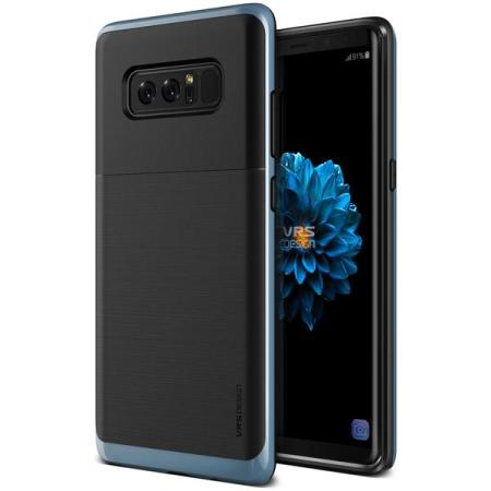 VRS Design High Pro Shield Samsung Galaxy Note 8 Case - Blue Coral