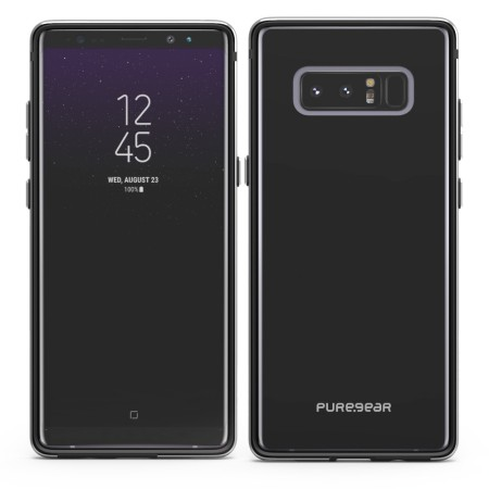 Puregear Glassbak 360 Samsung Galaxy Note 8 Case - Black
