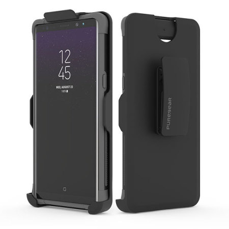 Puregear Dualtek Hip Samsung Galaxy Note 8 Case & Holster - Matt Black