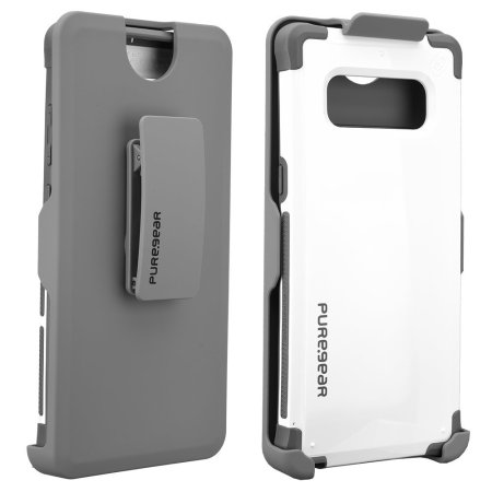 Puregear Dualtek Hip Samsung Galaxy Note 8 Case & Holster - White