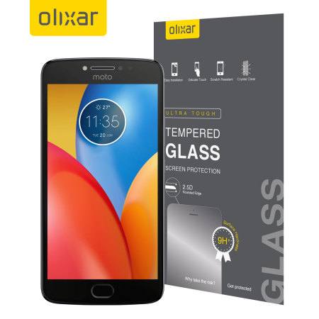 Olixar Motorola Moto E4 Plus Tempered Glass Screen Protector