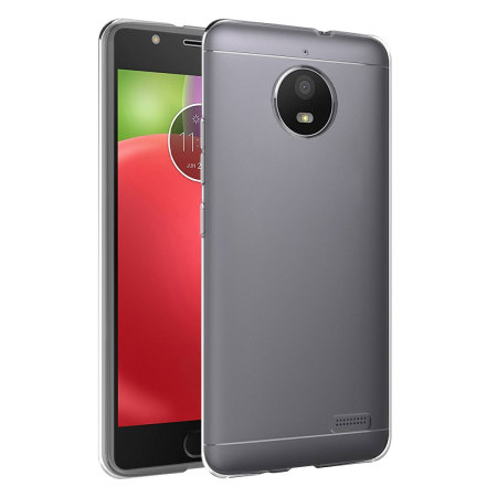 official photos 165ea 57a72 Olixar Ultra-Thin Motorola Moto E4 Gel Case - 100% Clear