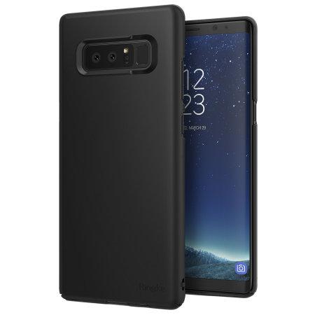 8 Samsung - Rearth Ringke Case Slim Galaxy Black Note