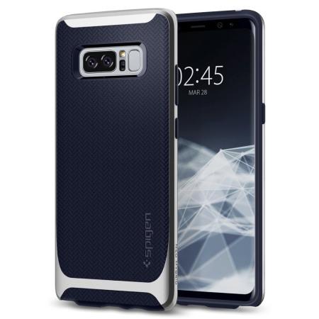 Spigen Neo Hybrid Samsung Galaxy Note 8 Case - Silver Arctic