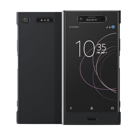 the best attitude 2d348 8bc58 Official Sony Xperia XZ1 Style Cover Touch Case - Black