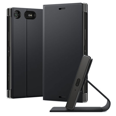 Official Sony Xperia XZ1 Compact Style Cover Stand - Black