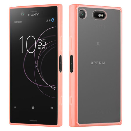 coque sony xperia xz1 compact roxfit gel shell rose avis. Black Bedroom Furniture Sets. Home Design Ideas