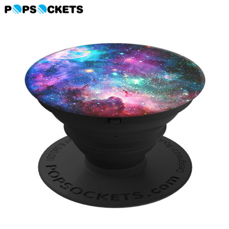 PopSockets Universal Smartphone 2-in-1 Stand & Grip - Blue Nebula