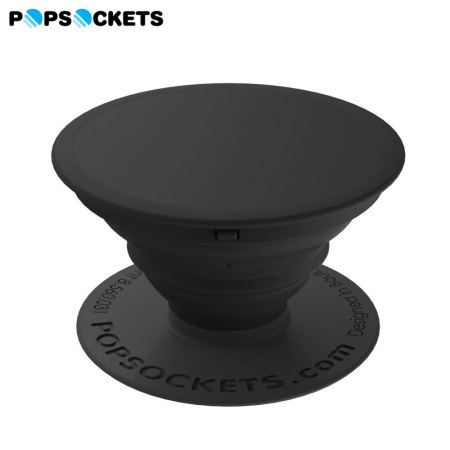 PopSockets Universal Smartphone 2-in-1 Stand & Grip - Aluminium Black