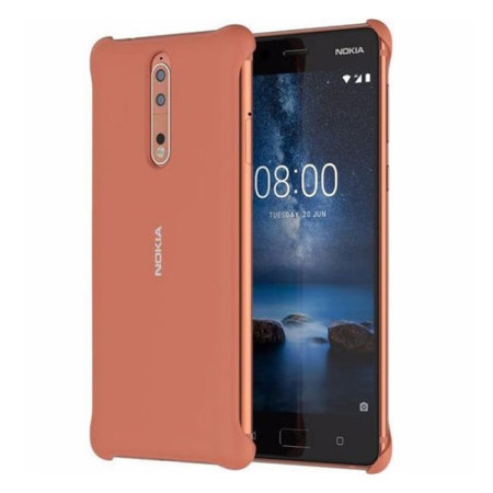 Official Nokia 8 Soft Touch Case