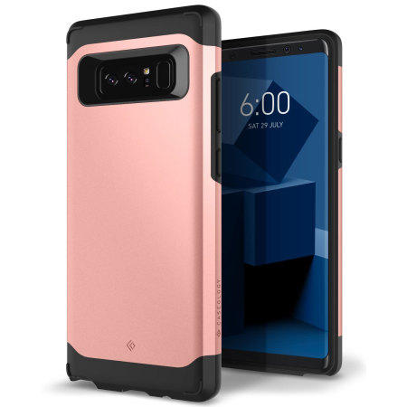 newest 4065d 4898b Caseology Galaxy Note 8 Legion Series Case - Rose Gold