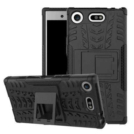 Olixar ArmourDillo Sony Xperia XZ1 Compact Protective Case - Black