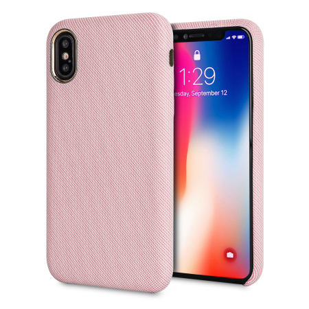 lovecases pretty in pastel iphone x denim design case - pink reviews