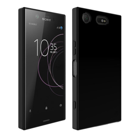 the latest d2d6b fad73 Olixar Flexishield Sony Xperia XZ1 Compact Gel Case - Solid Black