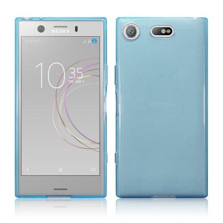 Coque Sony Xperia XZ1 Compact FlexiShield en gel \u2013 Bleue