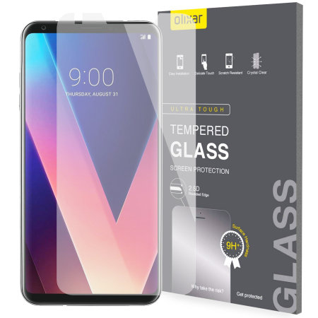 Olixar LG V30 Tempered Glass Screen Protector