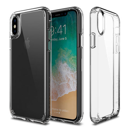 patchworks lumina iphone x slim case - clear