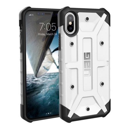 uag pathfinder iphone x rugged case - white reviews