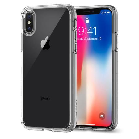 spigen ultra hybrid iphone x case - crystal clear reviews