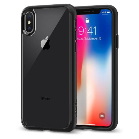 spigen ultra hybrid iphone x case - matte black reviews