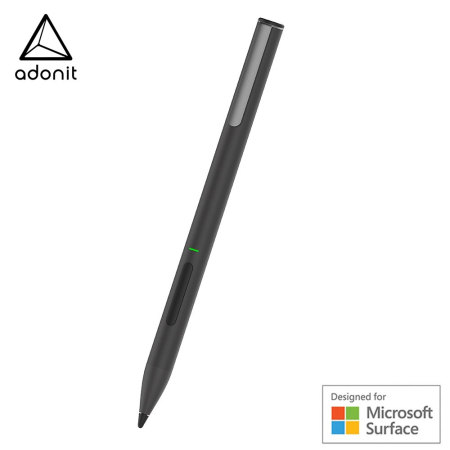Adonit Ink Windows Calibrated Fine Point Precision Tip Stylus - Black