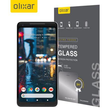 Olixar Google Pixel 2 XL Tempered Glass Screen Protector