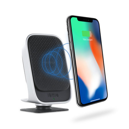 iOttie iTap 18W Magnetic Car Mount W/ Wireless Qi Fast Charger - Black