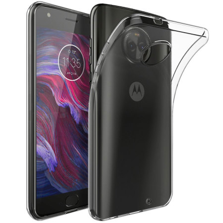 new product 5e999 15072 Olixar Ultra-Thin Motorola Moto X4 Gel Case - 100% Clear