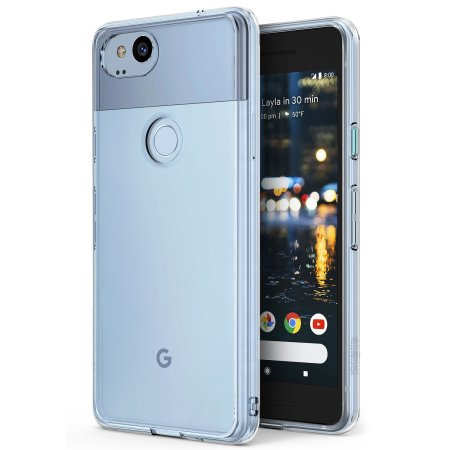 new styles 24e76 82ac9 Ringke Fusion Google Pixel 2 Case - Clear