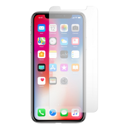 official photos f5f5d 96855 BodyGuardz Pure 2 iPhone X Premium Glass Screen Protector