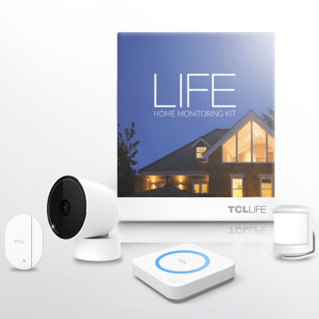tcl life home monitoring smart home system white. Black Bedroom Furniture Sets. Home Design Ideas