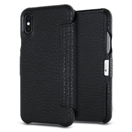 vaja agenda mg iphone x premium leather flip case - black reviews