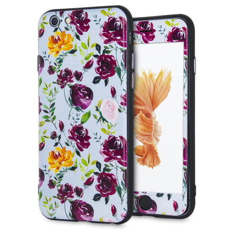 lovecases floral art iphone 6s / 6 case - blue reviews