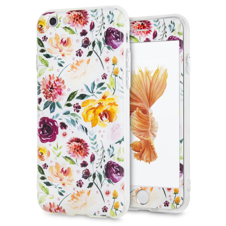 lovecases floral art iphone 6s / 6 case - white reviews