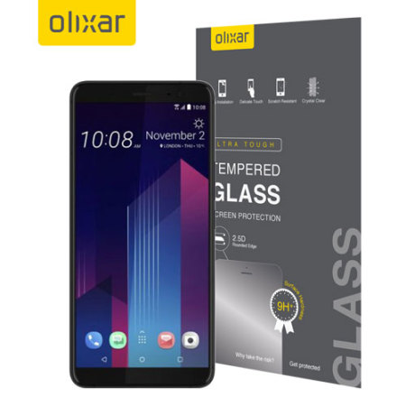 Olixar HTC U11 Plus Tempered Glass Screen Protector