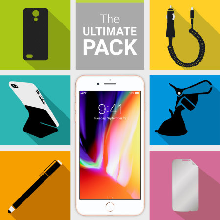 The Ultimate iPhone 8 Plus Accessory Pack