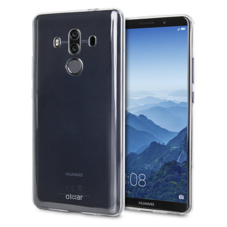 purchase cheap d3df3 07112 Olixar Ultra-Thin Huawei Mate 10 Pro Gel Case - 100% Clear