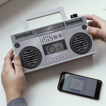 ThumbsUp DIY Wireless Boombox - Bluetooth - Grey