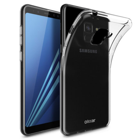 Olixar Ultra-Thin Samsung Galaxy A8 2018 Case - 100% Clear