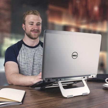 Olixar ErgoRiser Universal Laptop and Tablet Ergonomic Riser Stand