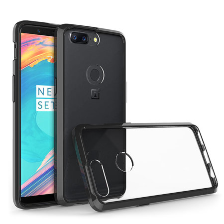 Coque OnePlus 5T Olixar ExoShield Snap,on \u2013 Transparente / Noire