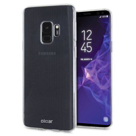 Olixar Ultra-Thin Samsung Galaxy S9 Case - 100% Clear