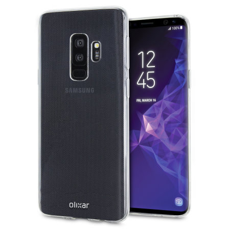 samsung galaxy s9 plus case 100 clear olixar ultra thin. Black Bedroom Furniture Sets. Home Design Ideas