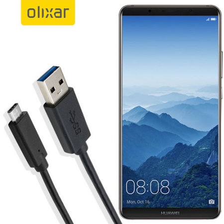 Olixar USB-C Huawei Mate 10 Pro Oplaadkabel