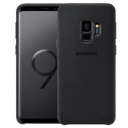 Official Samsung Galaxy S9 Alcantara Cover Case - Zwart