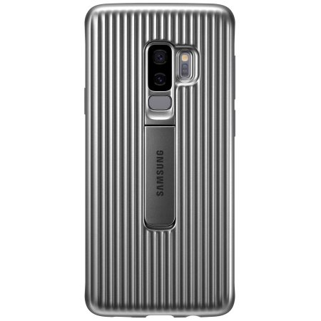 Stand Cover Officielle Samsung Galaxy S9 Plus - Argent