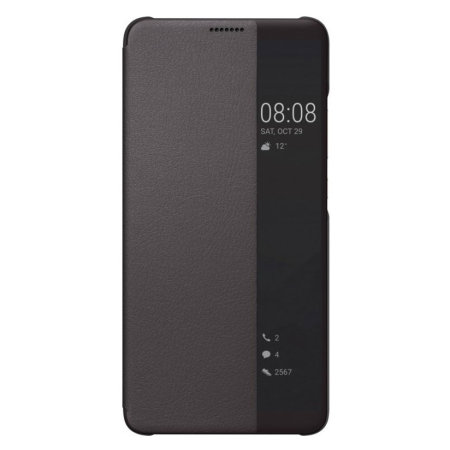 Official Huawei Mate 10 Pro Smart View Flip Case - Brown