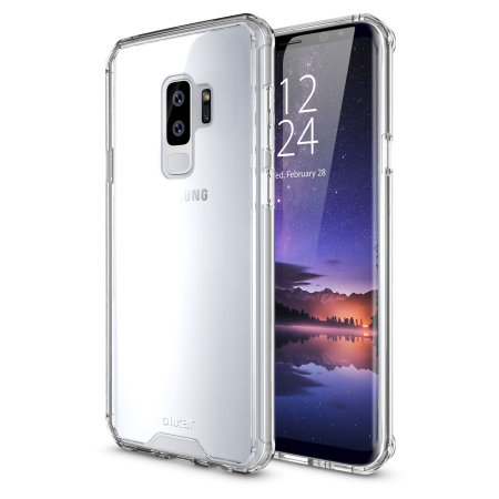 new concept 3e303 c91ad Olixar ExoShield Tough Snap-on Samsung Galaxy S9 Plus Case - Clear